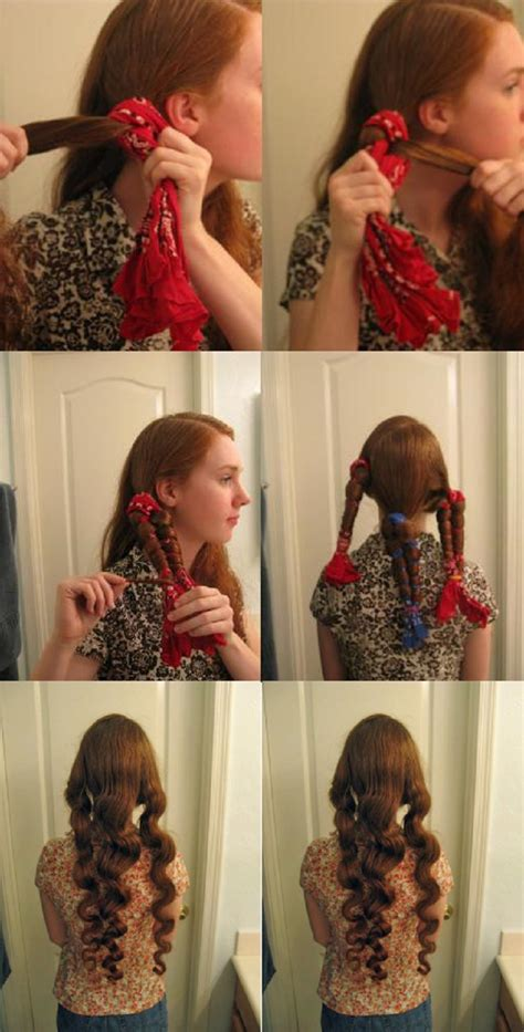 curl your hair in a hurry without heat top 10 ways to get curly hair with no heat www