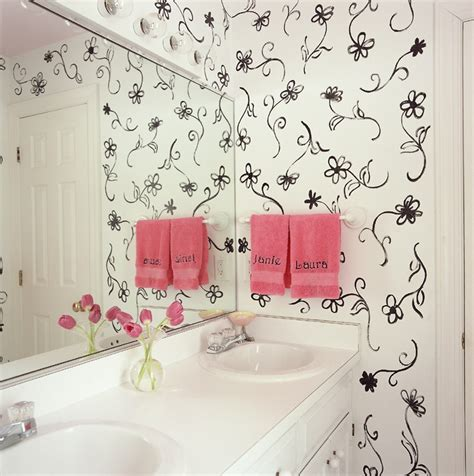 bathroom stencil ideas 54 best painted stenciled walls images on
