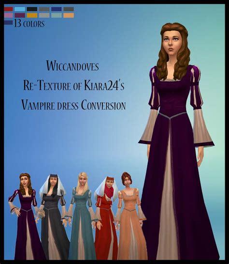 womens wiccandoves recolors  kiaras vampire dress
