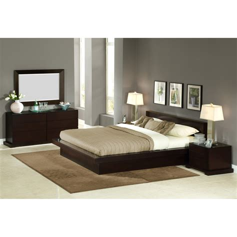 Bed Set by Black Gloss Bedroom Furniture Northern Ireland Home