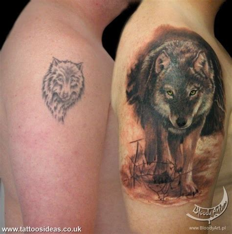 wolf tattoo history tattoo cover up of wolf shoulder wolf tattoo pinterest