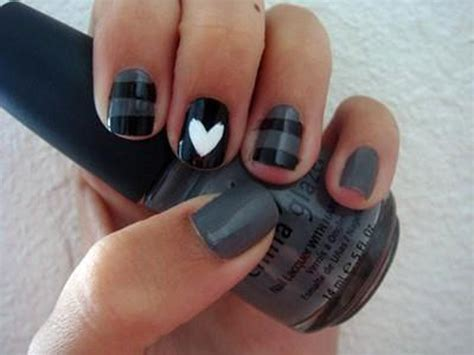 Easy Fingernail by Nail Designs Simple Simple Nail Designs