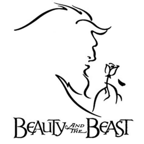 The Lonely Beast Outline by And The Beast Stained Glass Window Polyvore