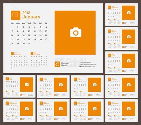 Calendar 2018 Eps Free 2018 Calendar Vector Cdr Ai Eps Free Cdrai