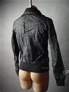 Jaket Bomber Bordir Original Fullcrum sale black faux leather biker motorcycle aviator flight bomber 49 ac jacket s