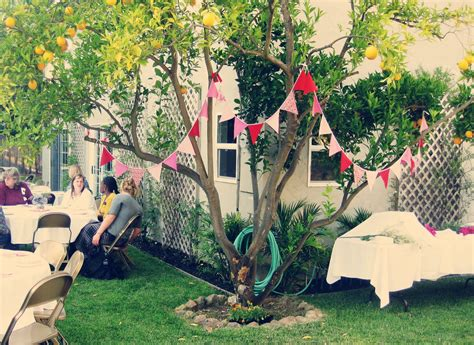 decoration for engagement party at home garden engagement party ideas decorating summer outdoor