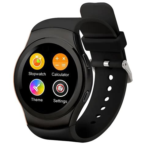 Smartwatch L1 Bluetooth 4 0 Mtk2502 Support Sim Card For Ios Android no 1 g3 bluetooth smart phone mtk2502