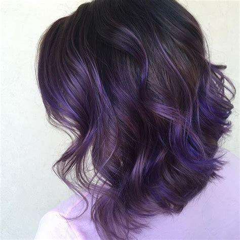 pin cheveux noir et une couleur violet rose au devant pelautscom on les 25 meilleures id 233 es concernant m 232 ches violettes sur
