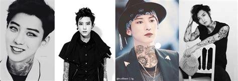 exo tattoo exo w tattoos imagines k pop amino