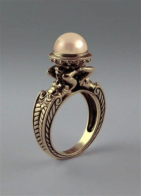25 best ideas about vintage pearl rings on