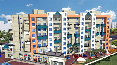 765 Sq Ft 2 Bhk 1t Apartment For Sale In Sai Samarth 765 Sq Ft 2 Bhk