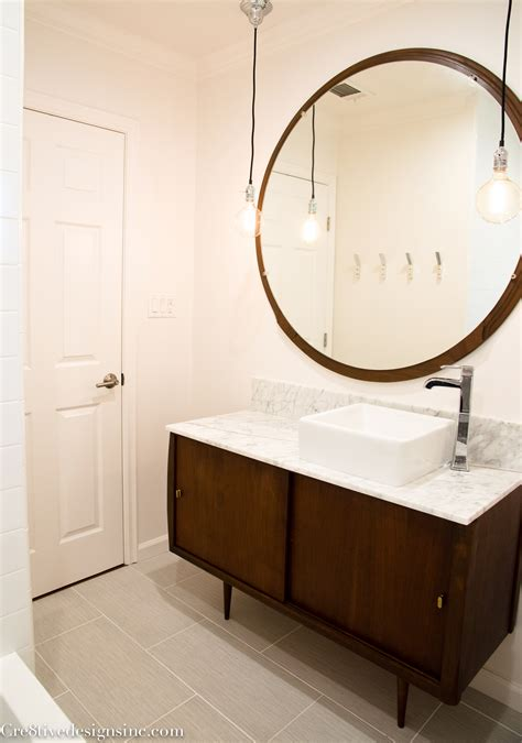 Mid Century Modern Bathroom Vanity Ideas by Mid Century Modern Bathroom Cre8tive Designs Inc