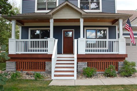front porch ideas for homes house style and plans