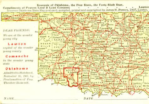 State Of Oklahoma Records Land Records Service Ok Dept Of Libraries