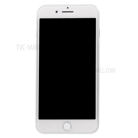 1 1 scale black screen non working dummy phone replica model for iphone 8 plus 5 5 inch silver