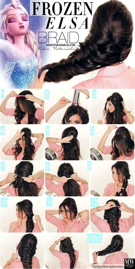 hair braiding styles step by step 25 incredible step by step braided hairstyles with