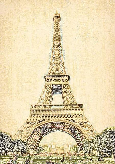 Eiffel Tower Wall Mural vintage eiffel tower wall mural contemporary wallpaper