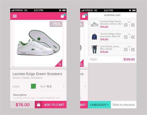 home design shopping app dribbble real pixels gif by virgil pana