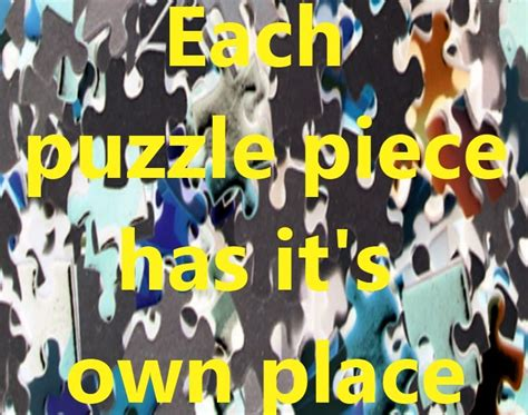 with god all things are possible putting the puzzle
