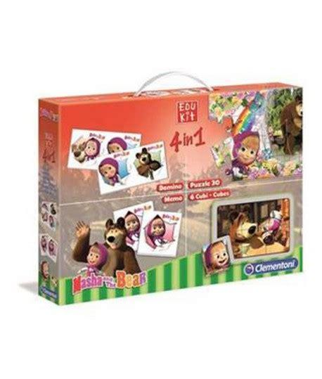 cornici per puzzle clementoni comprare clementoni 13400 edukit 4 in 1 masha vendita