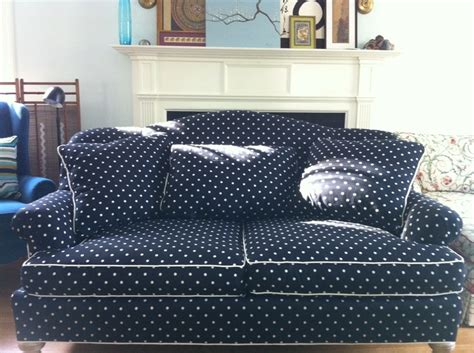 polka dot sofa custom polka dot sofa black and white polka dot sofa in cook