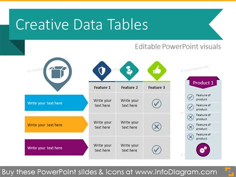 Hand Drawn Styles Powerpoint Templates Powerpoint Table Template