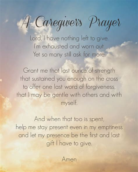 along the way thoughts on loss and caregiving books wordless wednesday a caregiver s prayer bedm la casa