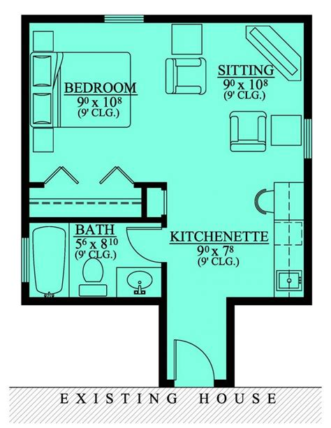 in suite plans 654185 in suite addition house plans
