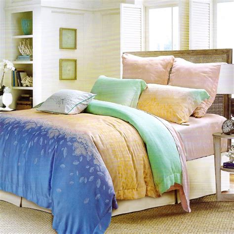 polyester comforters tencel cover