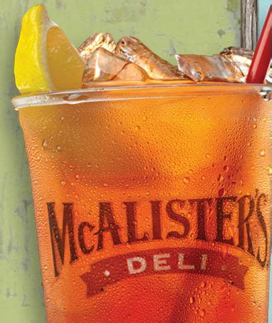 Mcalister S Deli Gift Card - free tea at mcalister s deli enter to win a 100 gift card
