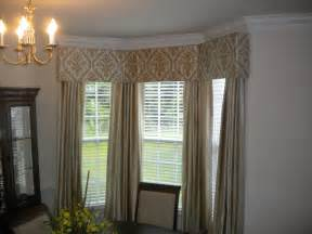 Window Treatment For Bow Window cornice boards mcfeely window fashions