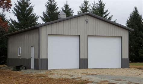 24x36 garage plans dennis c 30 x 40 greiner buildings inc
