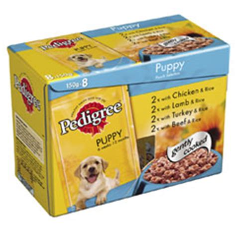 pedigree puppy food reviews pedigree puppy pouch food product reviews and price comparison