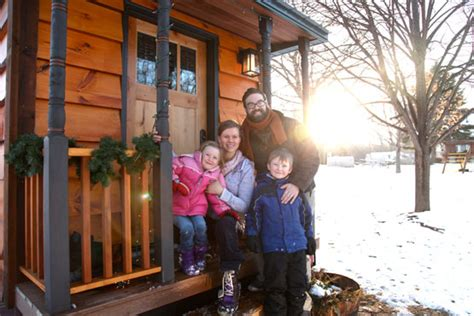 tiny houses for families tiny house living how two families made it work teenagers