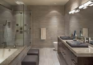 Downtown penthouse contemporary bathroom omaha by interiors