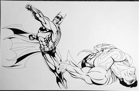 Batman V Superman Coloring Pages by Batman Vs Superman By Eso2001 On Deviantart