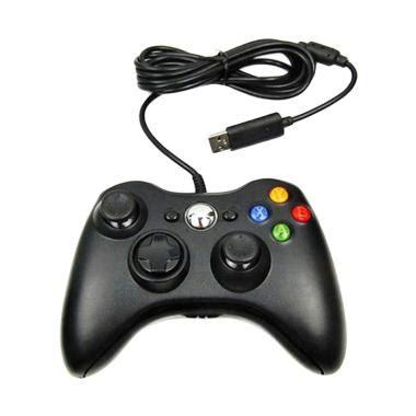 C Tech Gamepad Single Getar Hitam jual pc stick untuk gaming baru harga promo original