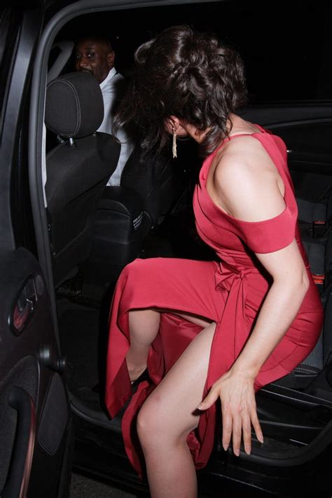 What Was She Thinking Shiny Mishaps by Susanna Suffers Wardrobe Malfunction As She Struggles