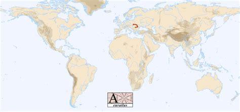Carpathian Mountains On World Map.Carpathian Mountains On World Map
