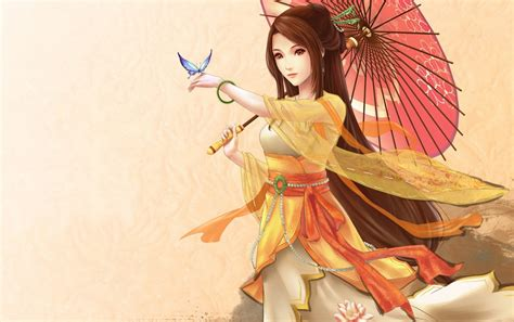 imagenes japonesas hd mujer y mariposa japonesa fondos de pantalla mujer y