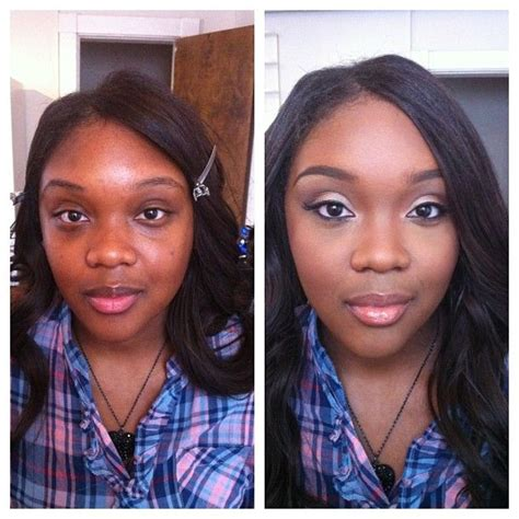 african american makeovers before and after makeup black women baltimore makeup
