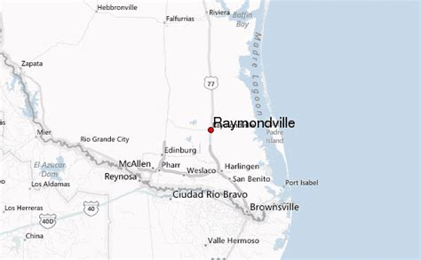 raymondville texas map raymondville location guide