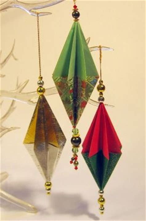 origami paper like you and tree decorations on pinterest