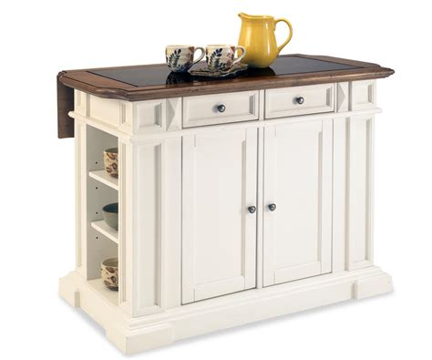nantucket kitchen island home styles nantucket kitchen island in distressed black