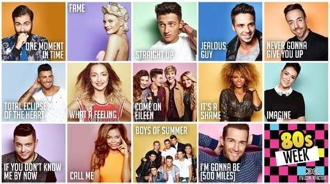 song x factor x factor 80s week song list revealed chat x