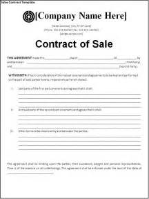 Sales Contract Agreement Template sales contract template download page word excel pdf