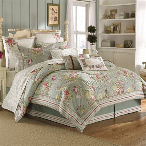 ashley bedding laura ashley eloise comforter sets from beddingstyle com