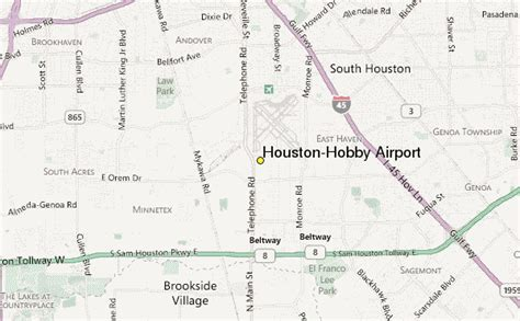 houston map hobby airport houston hobby airport weather station record historical