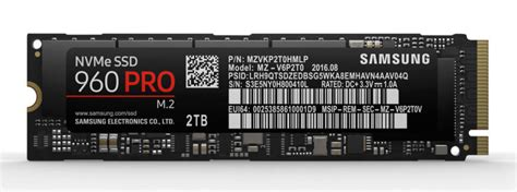 Samsung 960 Pro Samsung Unveils Fast 960 Pro And 960 Evo M 2 Nvme Ssds Ars Technica