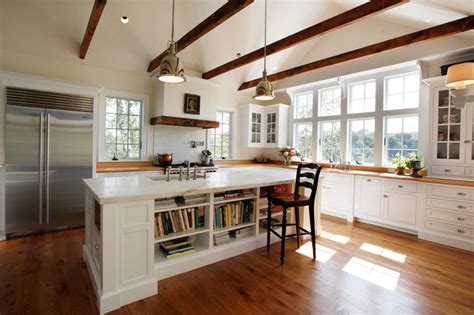 Traditional Home Interiors Living Rooms by Light Farm Kitchen Farmhouse Kitchen Other Metro